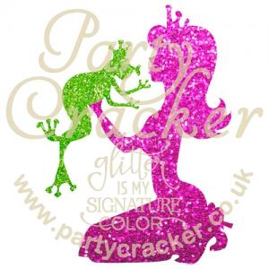 5 x Princess and Frog Stencil