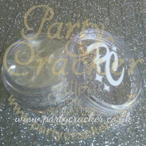 5mm Clear Disc Shaped Body Glitter