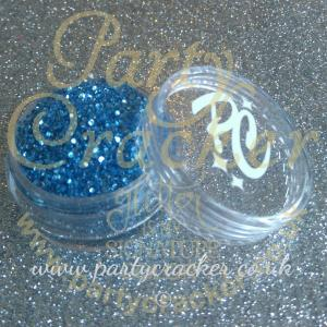 Denim Blue Chunky Glitter