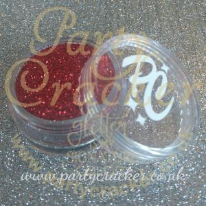 Metallic Red Glitter