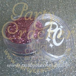 Metallic Rose Copper Glitter