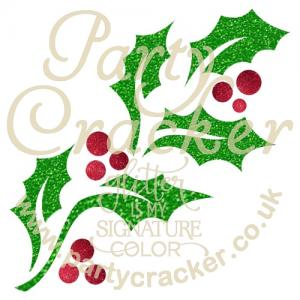5 x Jolly Holly Stencil