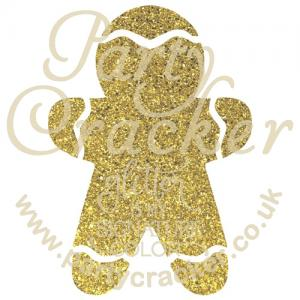 5 x Gingerbread Man Stencil