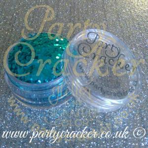 Light Blue Chunky Glitter