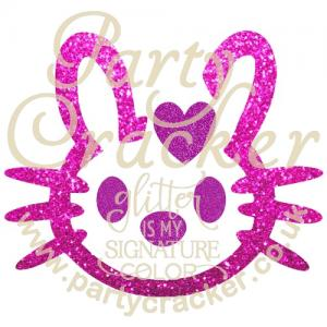 5 x Kitty Bun Stencil