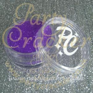 Neon UV Purple Glitter